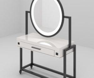 Будуарный столик с зеркалом с подсветкой  для дома
